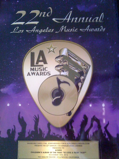 la music awards aoede
