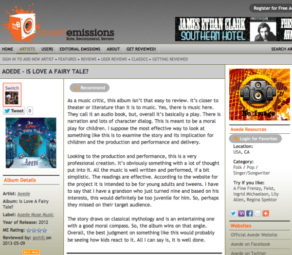 music emissions review aoede ilaft may 2013